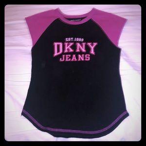 Gently worn vintage DKNY sleeveless top